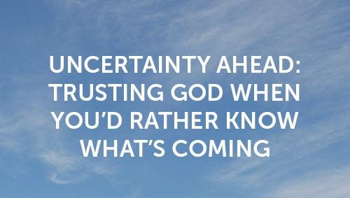 Uncertainty Ahead thumbnail