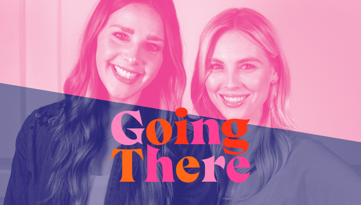 cover image of Going There podcast with Christian Neuenswander and Samantha Miller