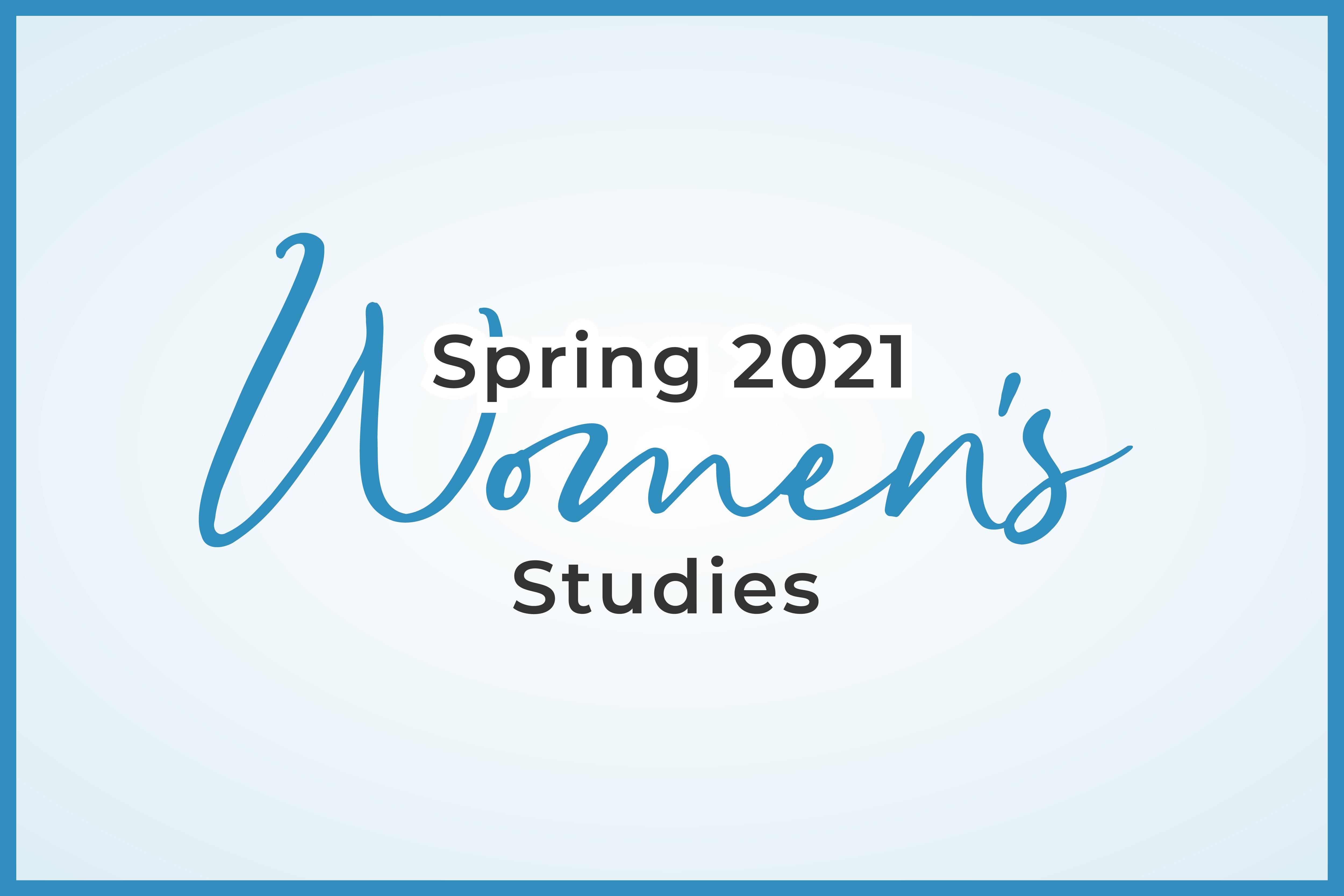Womens Spring Studies_mWF